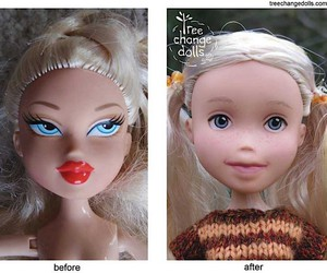 "Natural facelift for Barbie competition ""Bratz"""