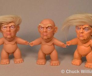 Trump Troll dolls