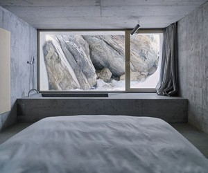 CABIN IN THE SWISS ALPS BY NICKISCH SANO WALDER