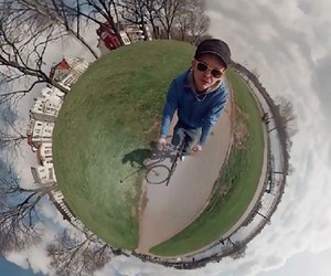 360º Spherical Panorama Video Timelapse
