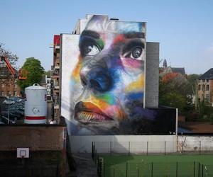 Artist David Walker Finished His Biggest Mural