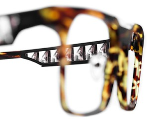 Z.. Tipton processes images of films in spectacles