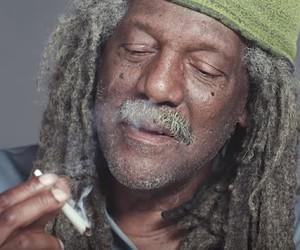 Three older men smoke Marijuana for the first time